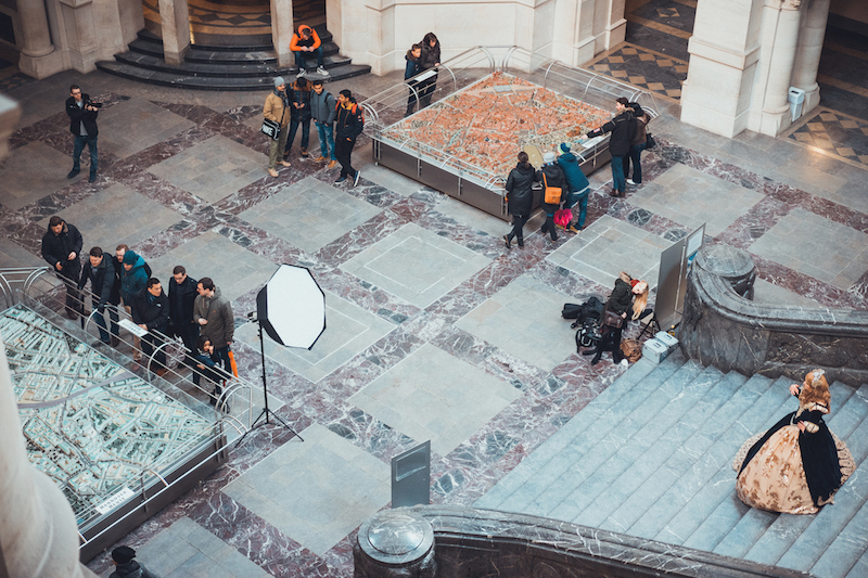 im Hannover Rathaus Anastasia geshootet