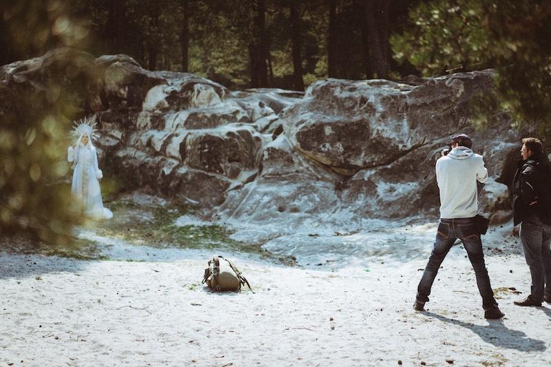 Shooting mit der Eiskönigin