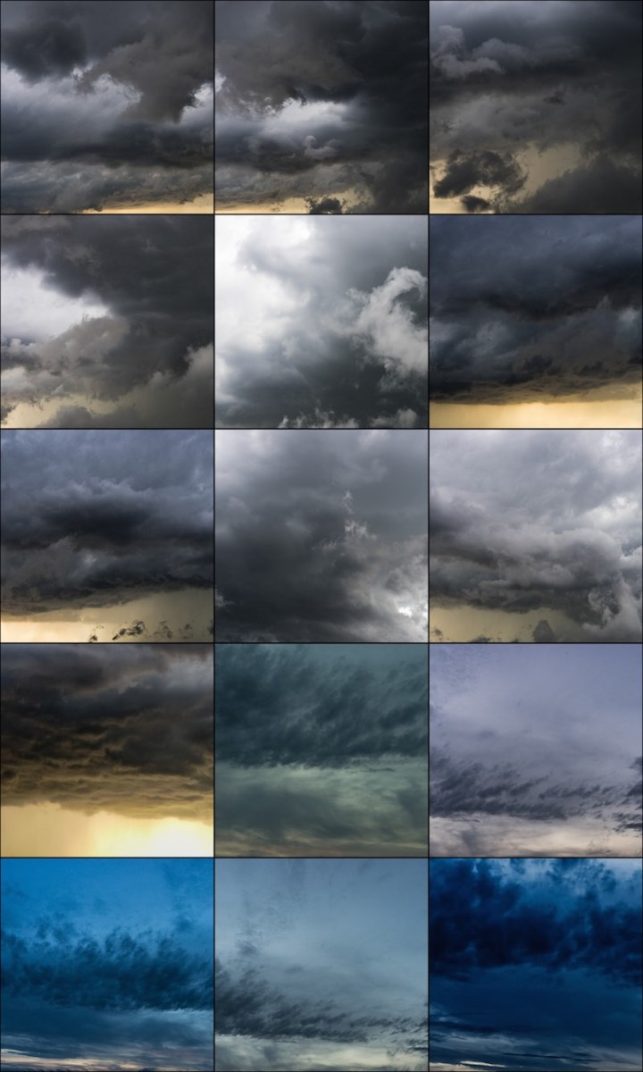 Collage Wolken Overlay 2