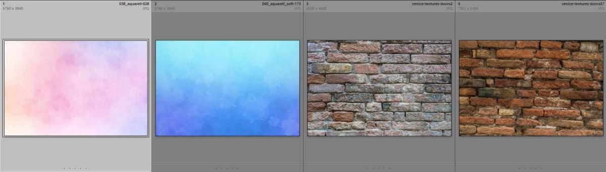 Collage-Texturen