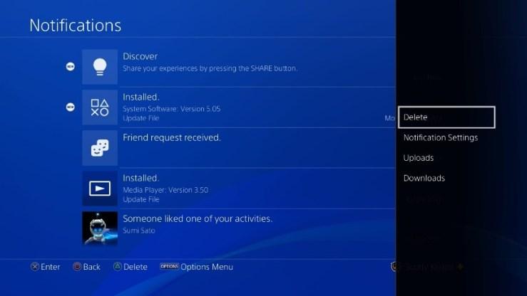 PS4 V5.50 Yenilikleri