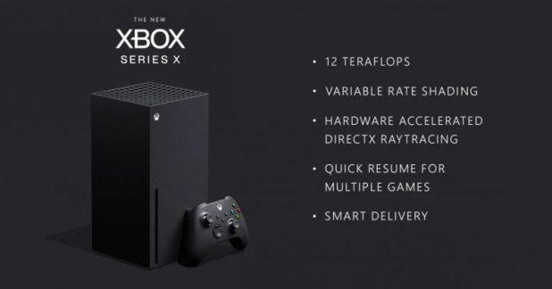 xbox series x teknik özellikler