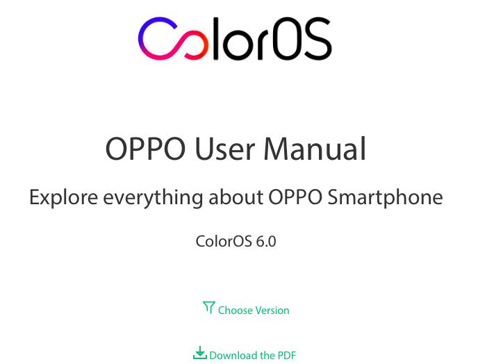 Oppo Telefonları Kullanım Kılavuzları