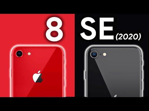 iPhone SE 2 ile iPhone 8 Kıyaslama