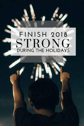 Are the Holidays Cramping Your Health Goals - Here's How to Finish 2018 Strong - Tayler Silfverduk DTR - #healthgoals #achieveyourgoals #motivation #healthymotivation #encouragment #dietetics #nutritionanddietetics #achieveyourgoals #healthyholidays #holidayhealthhacks #holidayhacks #holidays #glutenfreeholidays #holidayweightloss #weightlossrecipe