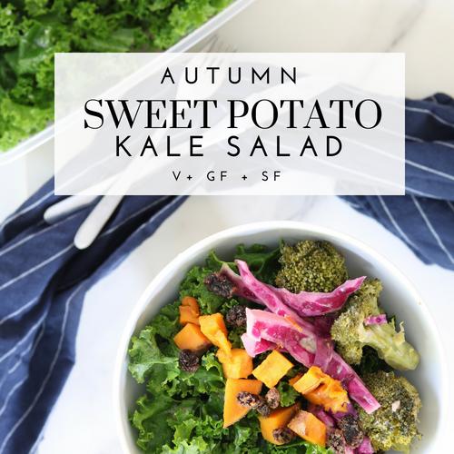 Autumn Sweet Potato Salad