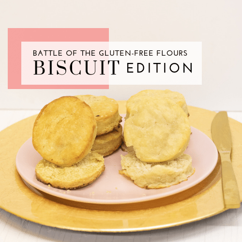 Battle of the Gluten-Free Flours – Nameste vs. Pamela's All-Purpose Flour – Biscuit Edition