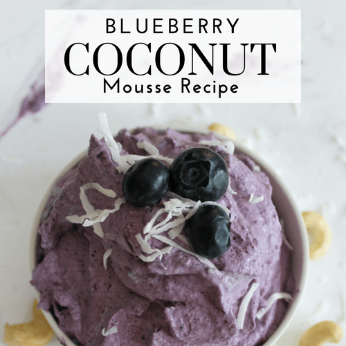 Blueberry Coconut Mousse Recipe