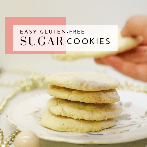 Easy Gluten-Free Sugar Cookies