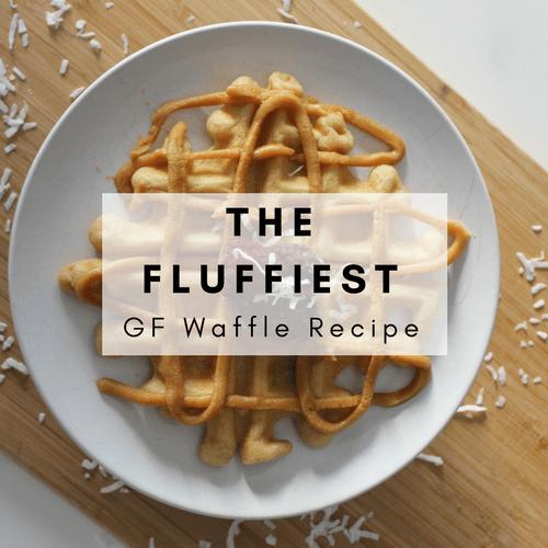 Fluffiest Gluten-Free Waffle Recipe