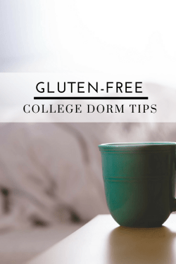 Gluten-Free College Dorm Tips- Tayler Silfverduk - Freaking out over moving out and trying to live gluten-free on campus? Take a deep breath and check out my top tips! #collegedorms #glutenfreedorm #glutenfreecollege #collegeceliac #collegecoeliac #celiacdisease #celiachacks #dormhacks #glutenfreehacks #coeliacdiseasehacks #wellness #glutenfreelifestyle #collegelifestyle
