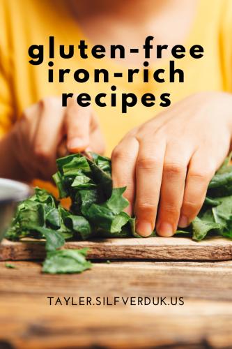 Gluten-Free Iron Rich Recipes, Gluten-Free Iron-Rich Breakfasts, Gluten-Free Iron Rich Snacks, Gluten-free Iron Rich Meals, Gluten-Free Iron Rich Recipes, Gluten-Free Iron Fortified Foods - Tayler Silfverduk, celiac dietitian