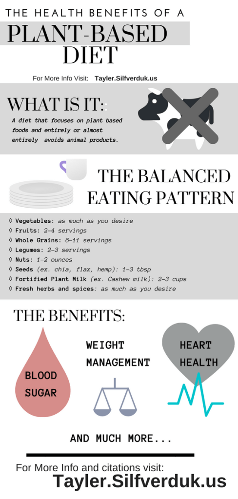 Health Benefits of a Plant-Based Diet - Tayler Silfverduk - #plantbased #healthfacts #nutritionfacts #vegan - Want to know if adjusting your diet to be vegan or plant-based can benefit you? Find out more on my informational blog post all about making the switch! #veganfacts #dietfacts #dietinfo