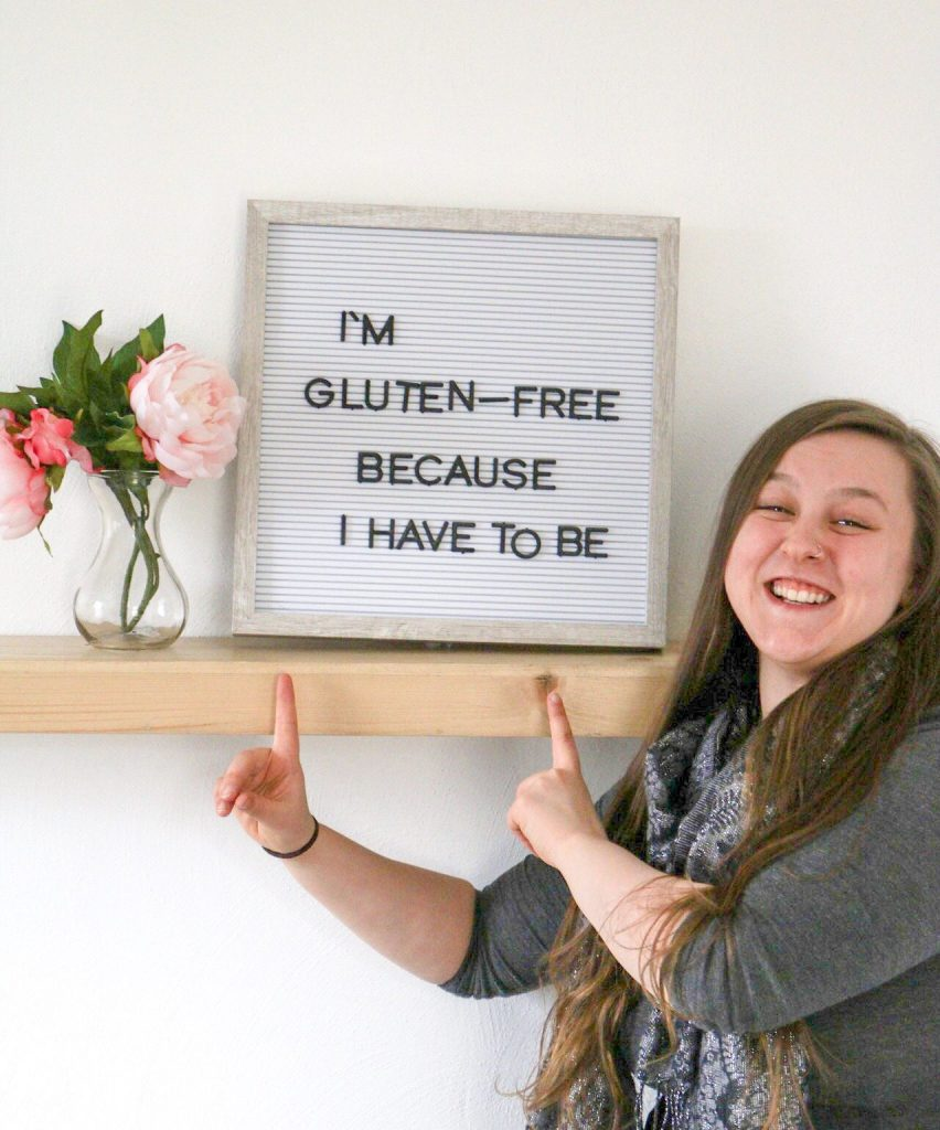 Tayler Silfverduk - About Me - I'm gluten-free because I have to be, about the @celiacdietitian