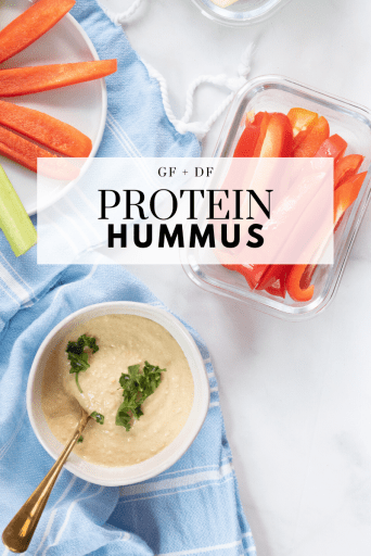 Protein hummus recipe - Tayler Silfverduk DTR - grass-fed beef collagen, beef collagen, collagen, celiac disease, protein hummus, gluten-free hummus, protein packed hummus, how to eat more protein, gluten-free snack, celiac safe snack, grain-free snack, protein packed snack, protein snack, #grainfreerecipe #glutenfreerecipe #hummusrecipe #proteinpacked #glutenfree #celiacsafe #celiaceats