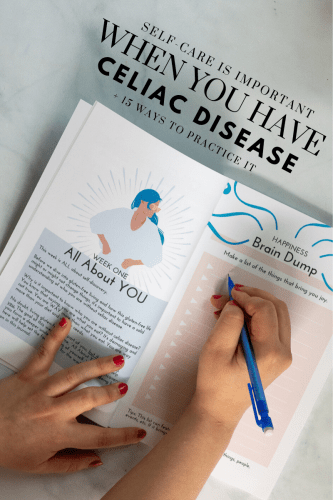 Self-Care is Important When You Have Celiac Disease + 15 Way to Practice it - Self-care and celiac disease - Self-care is important when you have celiac disease and 15 ways to practice it - Tayler Silfverduk DTR - practicing self-care when you have celiac disease, #celiac #coeliac #celiaclife #coeliaclife #glutenfreeliving #glutenfreelifestyle #glutenfreelife #selfcare #selfcompassion #selflove #howtopracticeselfcare #rd2be #celiacdietitian #glutenfreedietitian, selfcare is important, how to practice self-care, gluten-free selfcare
