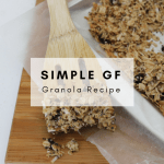 Simple Gluten-Free Granola Recipe - Tayler Silfverduk - Find out my secret to the best and easiest gluten-free granola recipe! #granola #simplegranola #diygranola #granolarecipe #glutenfreebreakfast #glutenfree #vegan #plantbased #celiacfriendly #coeliacfriendly #celiacfood #recipe #simple #oats #hemphearts