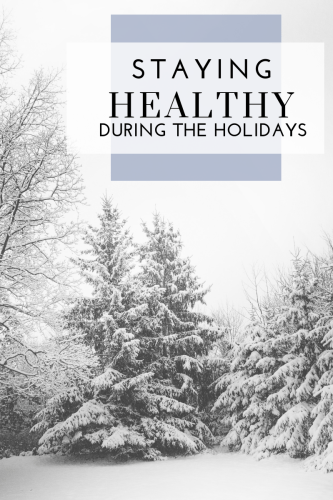 Staying Healthy During the Holidays - Tayler Silfverduk DTR - #healthyholidays #healthychristmas #healthyhanukkah #glutenfreeholidays #dietitiantips #nutritiontips #wellnessduringtheholidays #holidayhacks #mindfulholidays #dietetics #rd2be