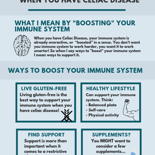 Ways to boost your Immune System when you have Celiac Disease
