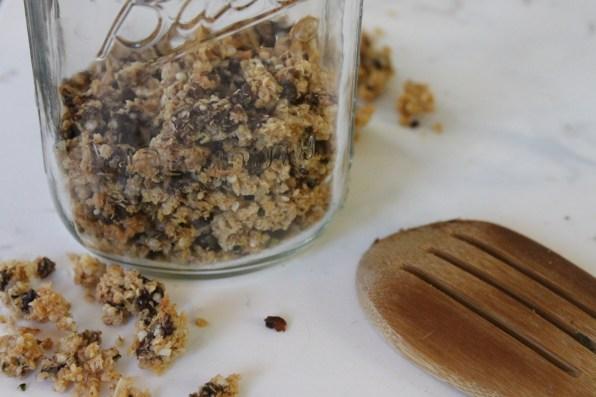 quinoa granola 1