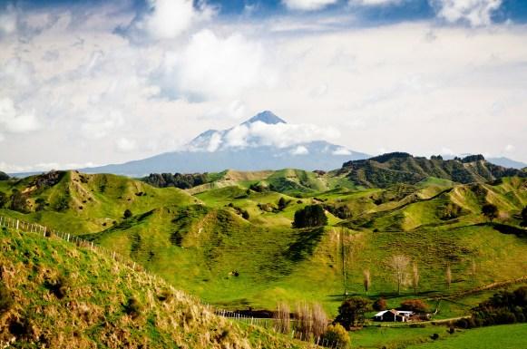 New Zealand landscape image