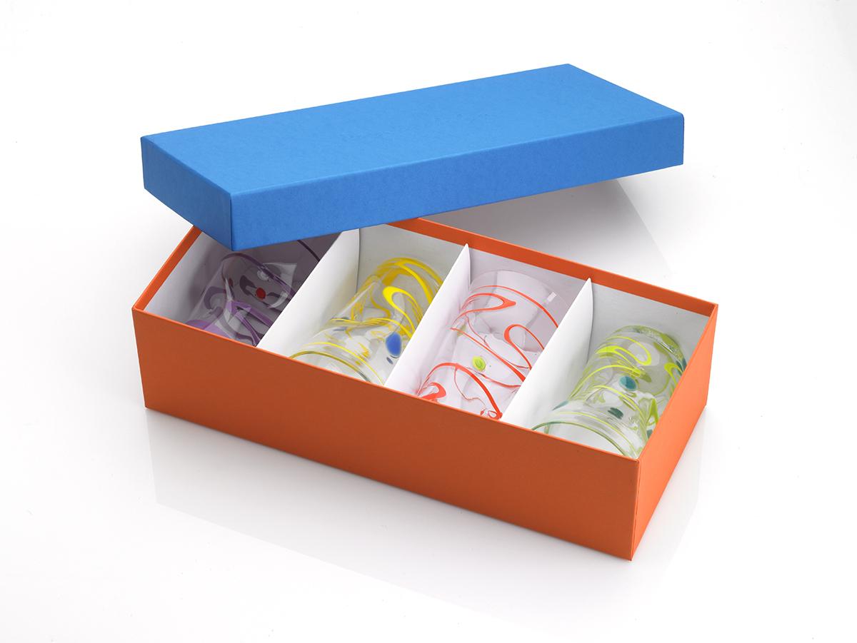Rigid Gift Box As Unique As The Handblown Glass From Pean