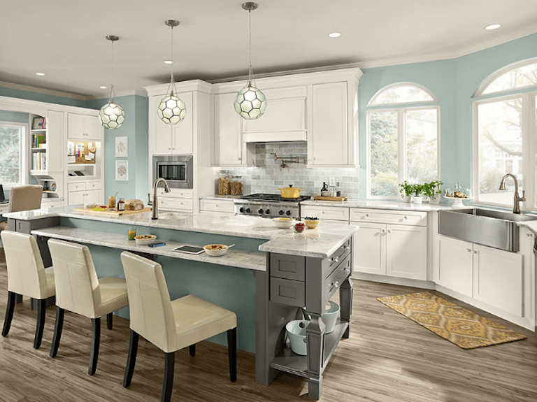 White Kitchen Cabinet Image