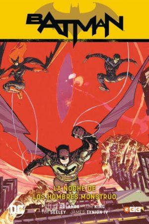 BATMAN DE TOM KING VOL. 02: LA NOCHE DE LOS HOMBRES MONSTRUOS