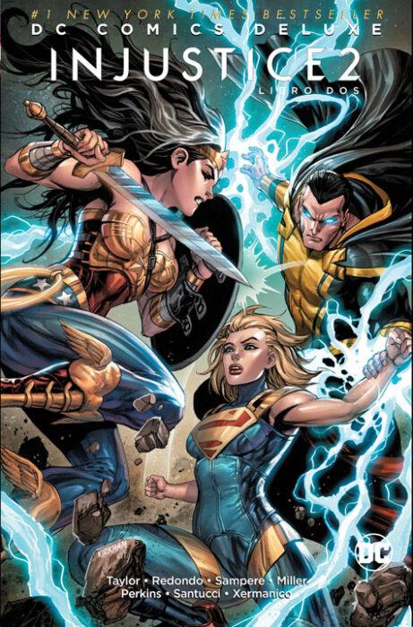 DC Comics Deluxe Injustice 2 Libro Dos