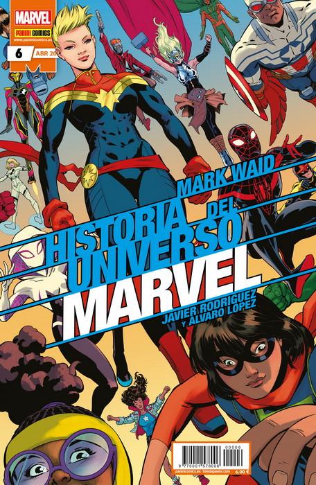 Historia del Universo Marvel 6 - Grapa Normal