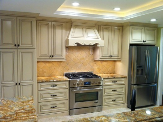 Kitchen Cabinet 16 Shown With Cope And Stick C101 Rpam2 Aim1 Oe2