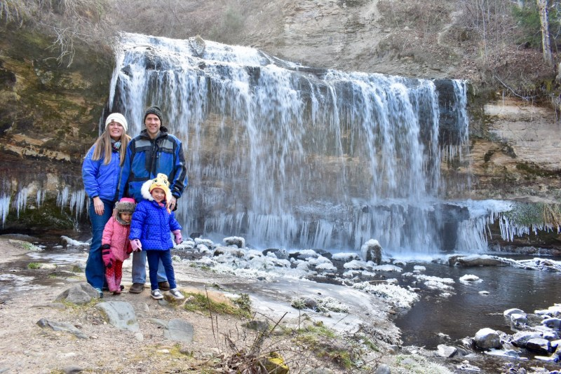 Cascade Falls, Wisconsin Waterfall, Wisconsin, Osceola
