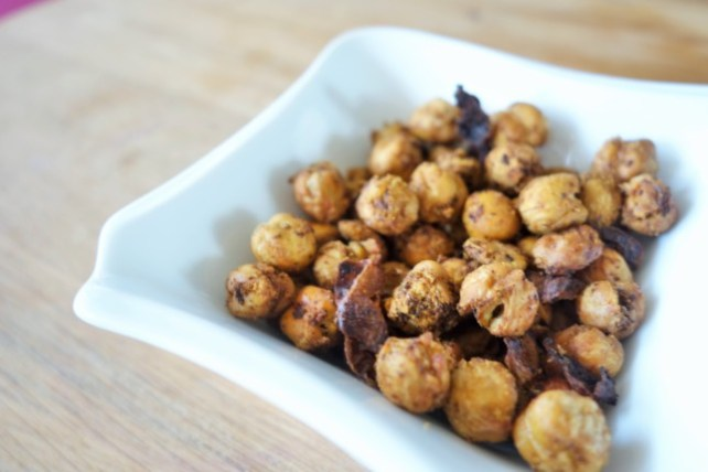 Chipotle Roasted Chickpeas