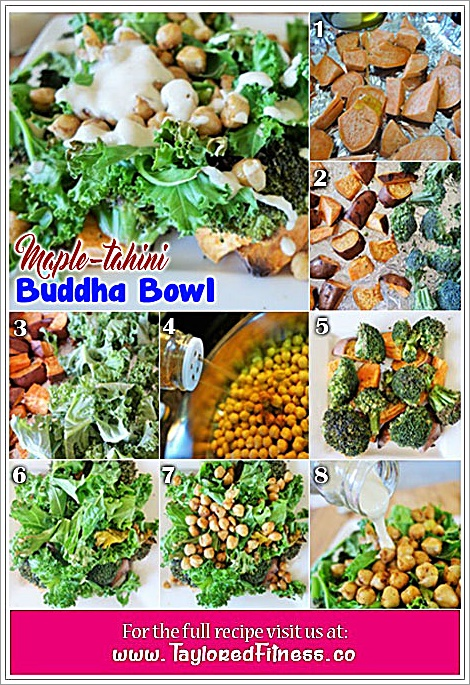 Maple-tahini Buddha Bowl