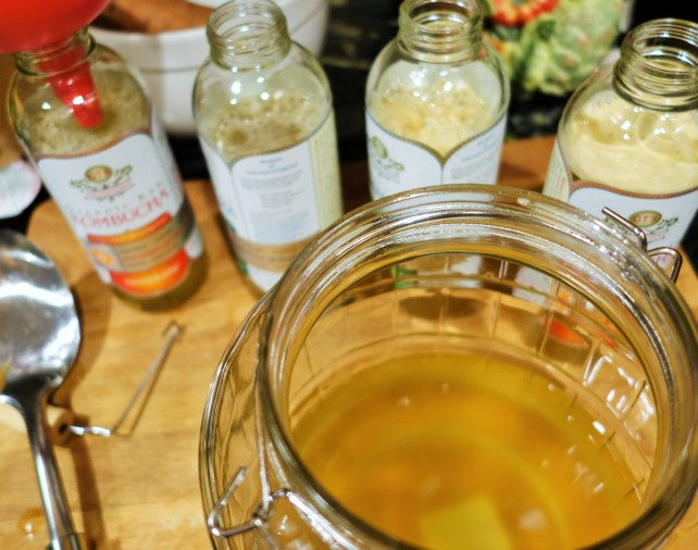 How To Brew Your OWN Kombucha Tea at Home!