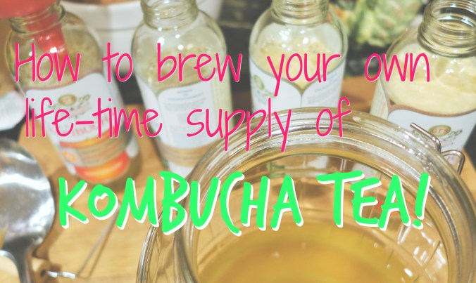 How to Brew Your Own Kombucha At Home