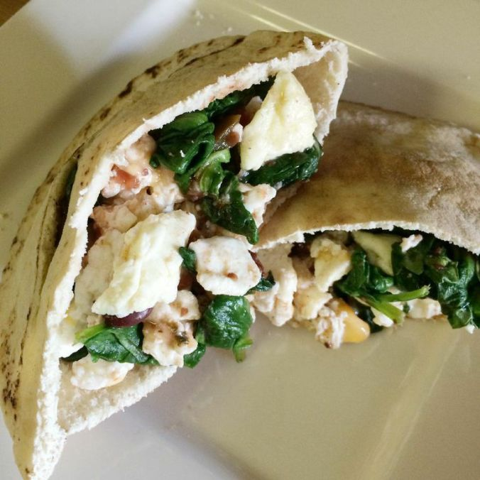 Protein Packed Pita