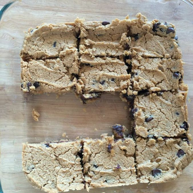 Gluten Free & Vegan Blondies
