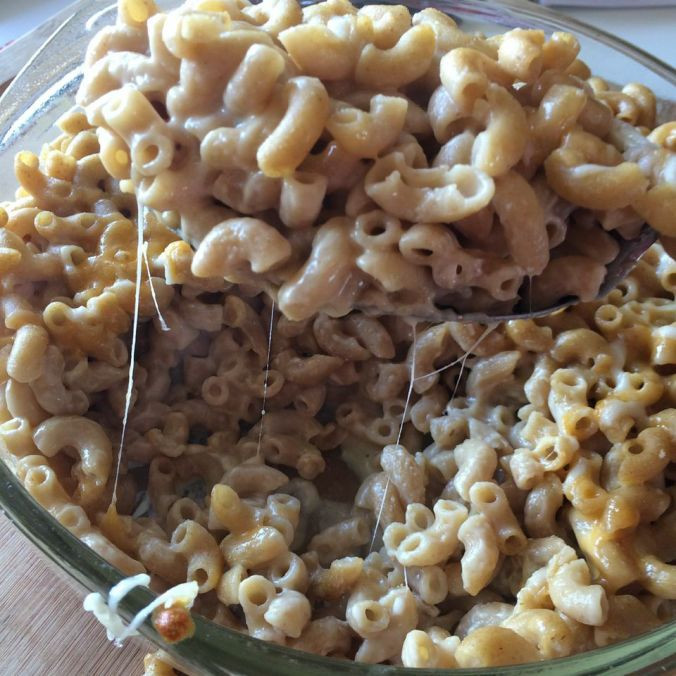 "Healthy ""velveeta"" Mac & Cheese"