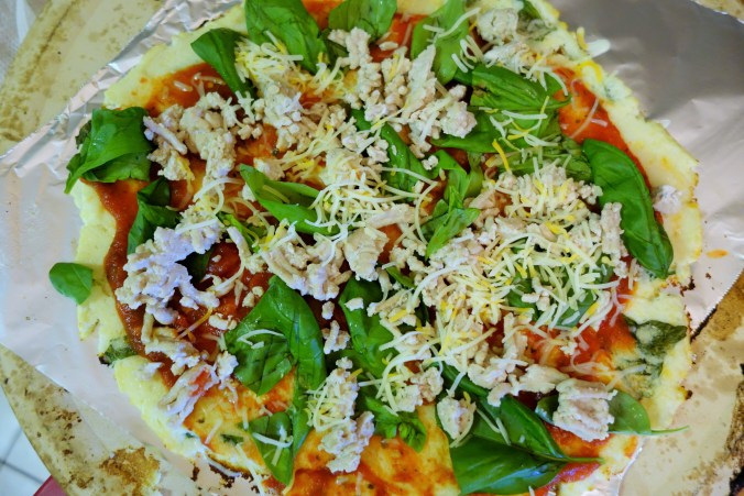 Single Serving Cauliflower Pizza (Crust)