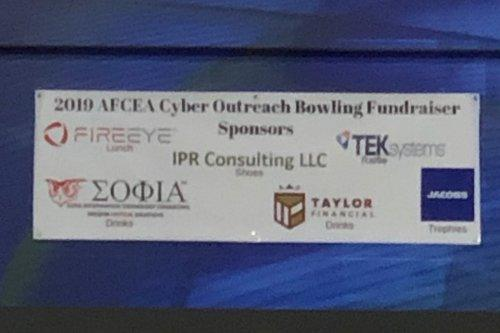 3rd Annual AFCEA Cyber Outreach Bowling Tournament