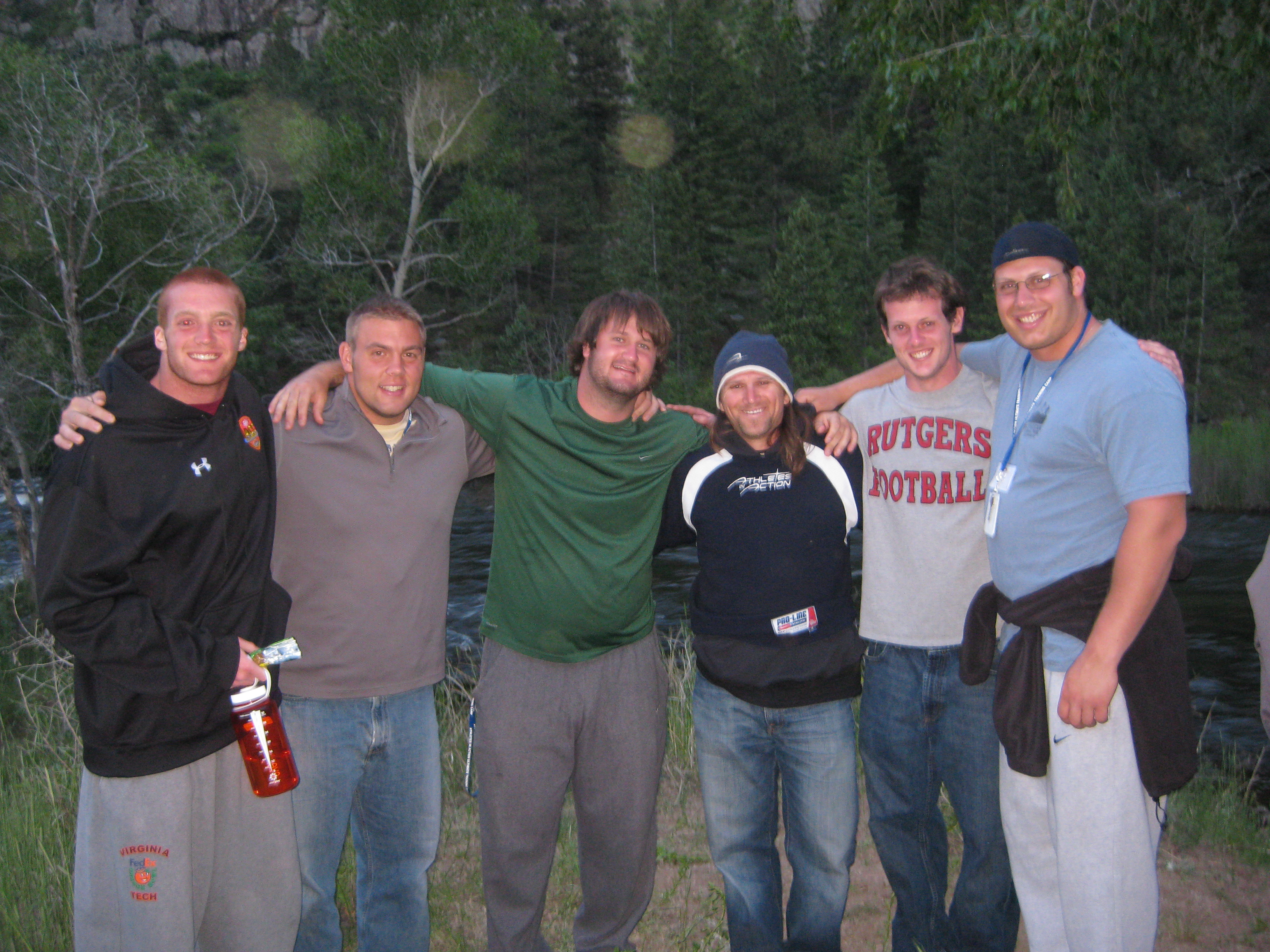 My Small Group Collin, Chris, Dan, Me, Billy And Mark