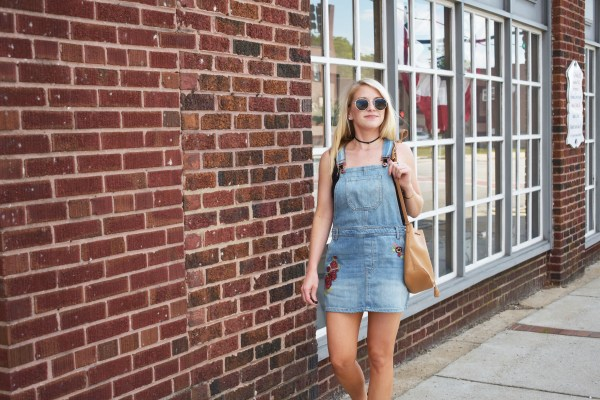 Overalls, Summer, Summer Style, Embroidery, Forever 21, Topshop, Caslon, Nordstrom, Old Navy, Gorjana, David Yurman, Summer 2017, tayloringstyle, Style Collective, Shopstyle Collective, Fashion Blogger, Kernersville Blogger, Winston-Salem Blogger, NC Blogger