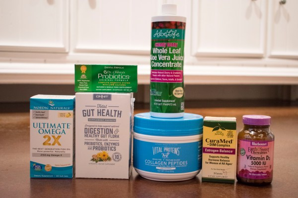Supplements, Aloe Life, Vital Proteins, CuraMed, BlueBonnet, Dr. Ohhira, Probiotics, Nature's Sunshine, Nordic Natural, Gut Health, Lizzie's Herb Shop, Daily Supplements, Lifestyle Blogger, Charlotte Blogger, NC Blogger, CLT Blogger, 704, Queen City, Healthy, tayloringstyle