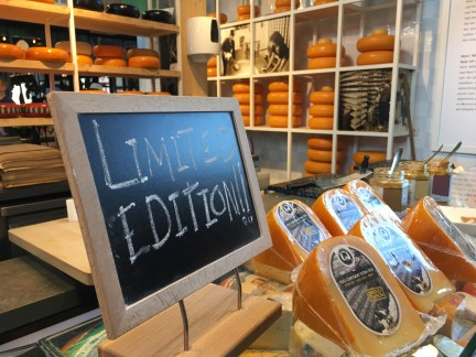 The Markthal limited edition cheeses.