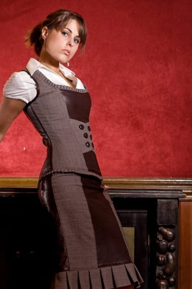 Boardroom Classic Style Skirt and Corset