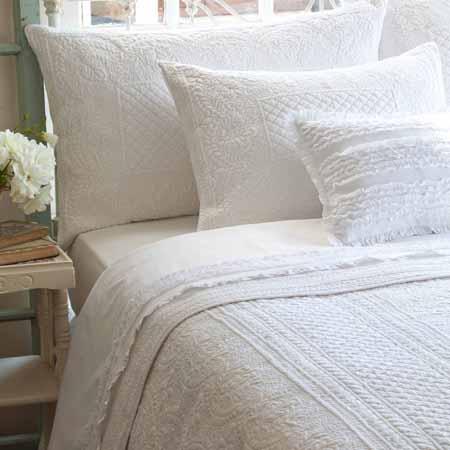 abigail white quilt