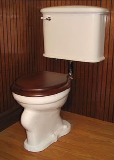 Early indoor toilet