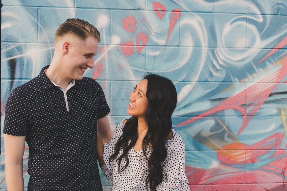 summer engagement session in Las Vegas by Taylor Made Photography