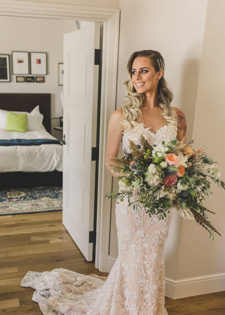 Las Vegas bridal portrait photographed by Taylor Made Photography